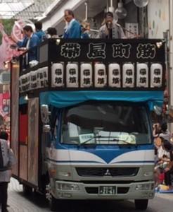 祭りトラック