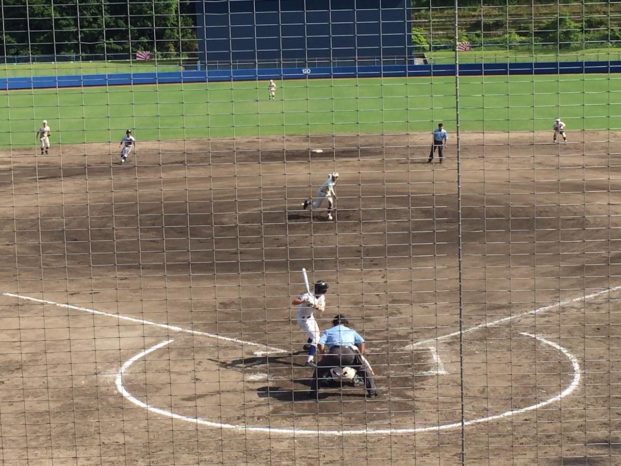 「やまみ三原市民球場」で広島県高校野球選手権を観戦しました!