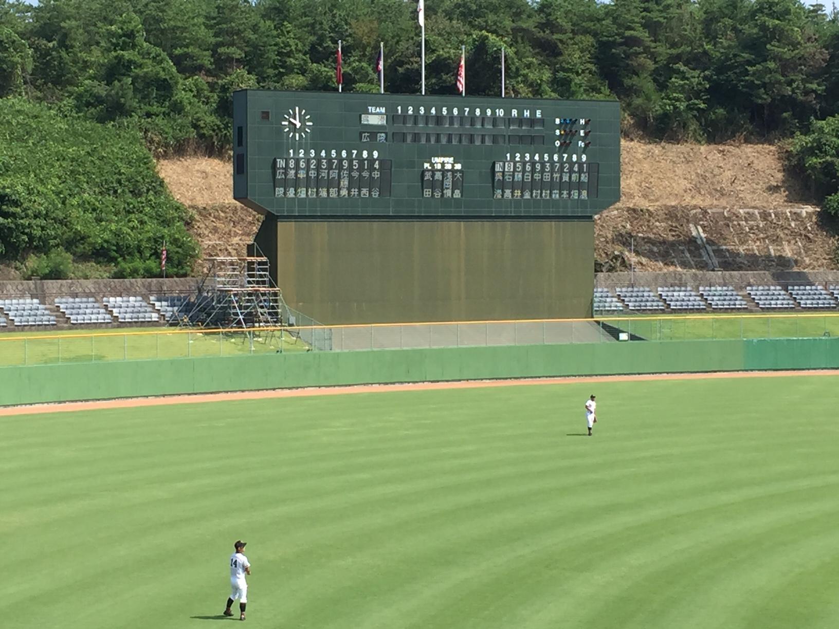 春の選抜高校野球代表を決める、秋季高校野球【広島県大会】が、しまなみ球場などで開催されています!