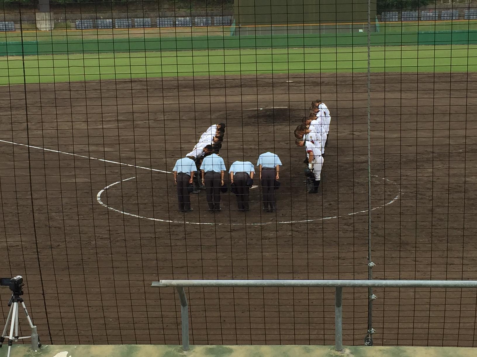 【しまなみ球場】で開催されている秋季高校野球【広島県大会】に行ってみました!