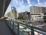 JR広島駅:新幹線口正面(=直結)の歩道橋が完成し、より便利になりました!