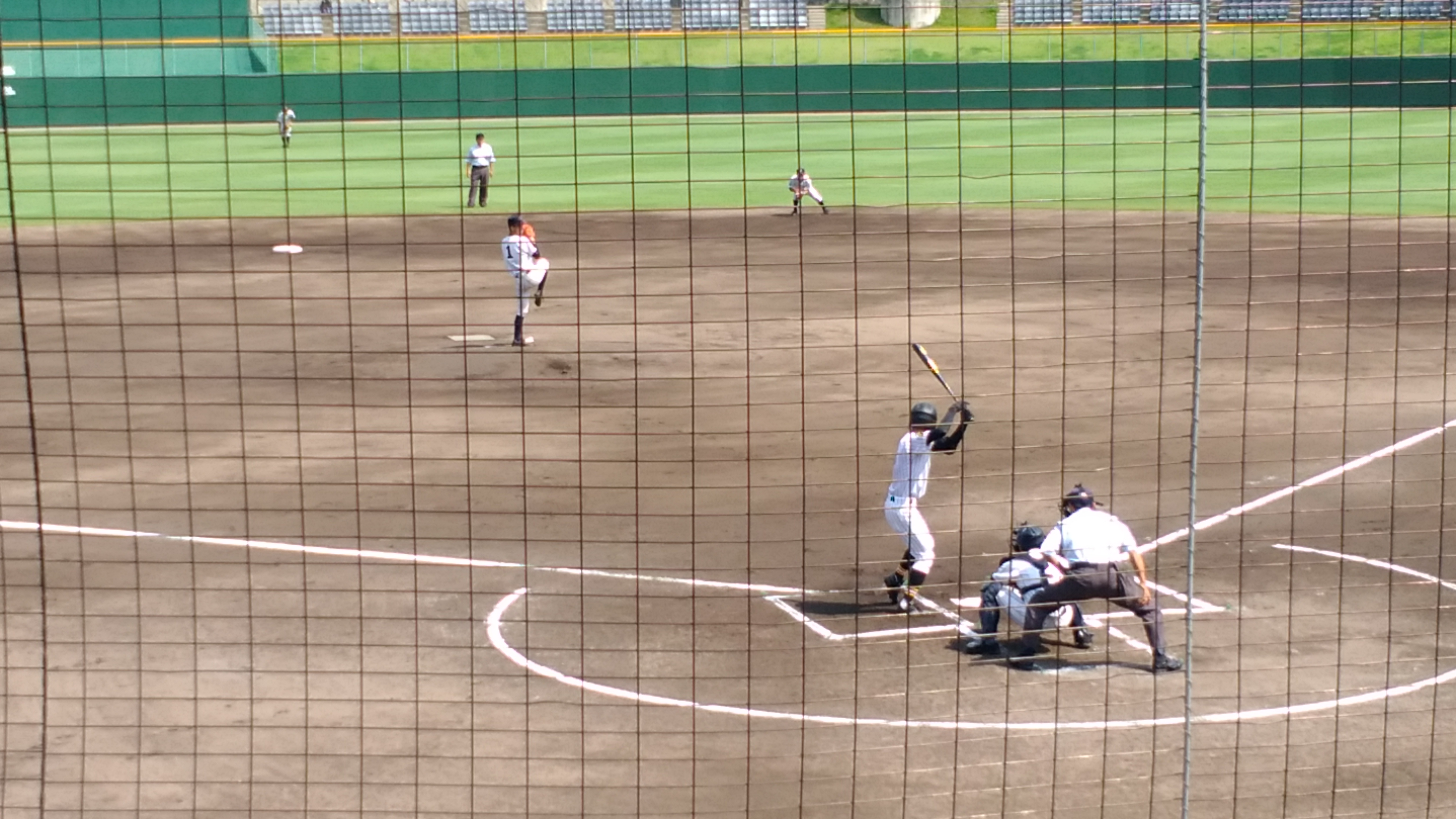 2017年高校野球【広島県予選】しまなみ球場で準々決勝を堪能しました!