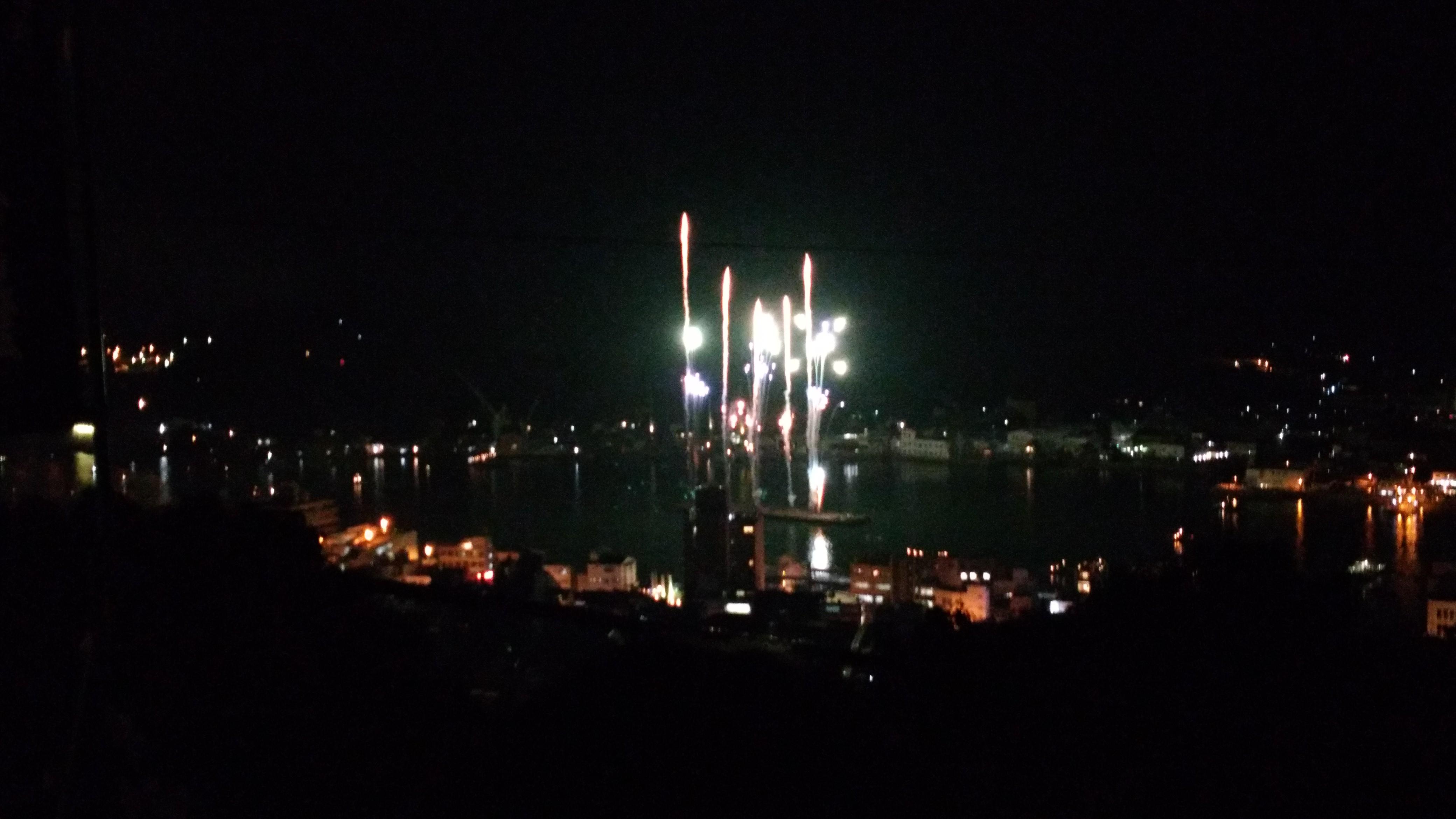 2017年7月【おのみち住吉花火まつり】を「千光寺」界隈から観てみました!
