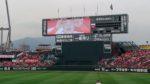試合中に雨が降った時、【雨に濡れていない席】とか【コンコースの様子】などのご紹介です! ‐ 2018年プロ野球・広島カープ・マツダスタジアム徹底ガイド 19 ‐